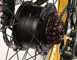 VTT electrique homme freins hydraulique